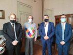 Gestione rifiuti, il segretario nazionale Ugl Stefano Andrini incontra Di Giovanni (Alea) e sindaco Zattini